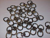 20pcs 5/8 DOUBLE SWIVEL EYE ALLOY STEEL NICKEL CZDSE10