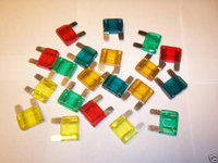 20pc MAXI CAR BLADE FUSE BOX ASSORTMENT